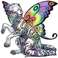 Daydream themed Haruba pet.