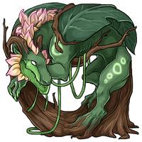 Overgrown themed Belragoth pet.